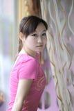 Roze meisje Royalty-vrije Stock Fotografie