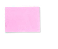 Roze memorandumnota Stock Foto