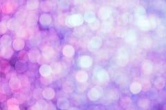 Roze met een violette onscherpe achtergrond met veel hoogtepunten Stock Afbeeldingen