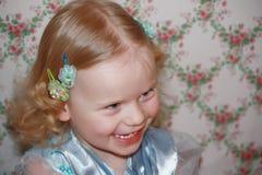 Roześmiana dziewczyna Zdjęcie Royalty Free