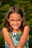 roześmiany dziewczyna cukierki obraz royalty free