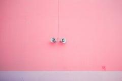 Roze minimalism vandaag royalty-vrije stock afbeeldingen