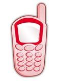 Roze mobiel Royalty-vrije Stock Foto's