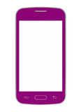 Roze mobiele telefoon Royalty-vrije Stock Foto's