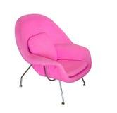 Roze moderne stoel Royalty-vrije Stock Foto's