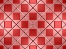 Roze mozaïek Stock Foto
