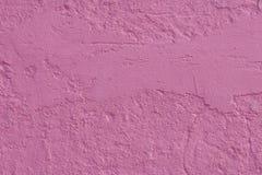 Roze Muur Stock Fotografie