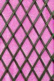 Roze muur Stock Afbeeldingen