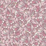 Roze naadloos patroon. Royalty-vrije Stock Fotografie