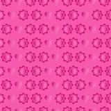 Roze naadloos voor Valentine-dag Stock Afbeeldingen