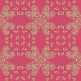 Roze naadloze abstracte achtergrond Stock Afbeeldingen