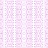 Roze naadloze beeldverhaal vectorachtergrond Royalty-vrije Stock Foto's