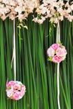 Roze nam boeket toe Royalty-vrije Stock Afbeeldingen