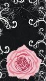 Roze nam toe Royalty-vrije Illustratie