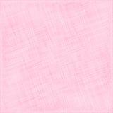 Roze Natuurlijke Katoenen Stof. Textielachtergrond vector illustratie