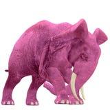 Roze Olifant - 04 stock illustratie