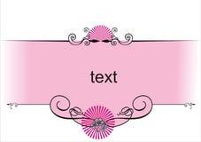 Roze ontwerp Stock Afbeeldingen