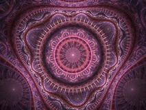Roze Oosterse Deken Stock Afbeelding