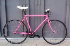 Roze Panter-Fiets royalty-vrije stock afbeelding