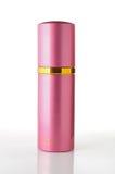 Roze parfumfles reclame Royalty-vrije Stock Foto's
