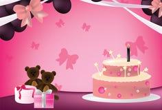 Roze partij Royalty-vrije Stock Afbeeldingen