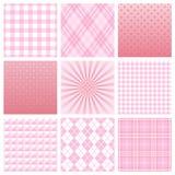Roze patroon Stock Afbeelding
