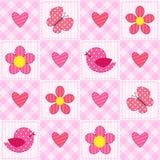 Roze patroon Royalty-vrije Stock Afbeeldingen