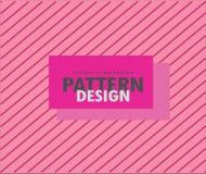 Roze patroonachtergrond royalty-vrije stock afbeeldingen