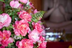 Roze peonys Royalty-vrije Stock Afbeeldingen