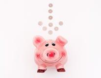 Roze piggibank Royalty-vrije Stock Afbeelding