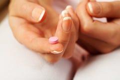 Roze pil Royalty-vrije Stock Afbeeldingen