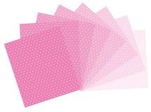 Roze stippen Royalty-vrije Stock Afbeelding