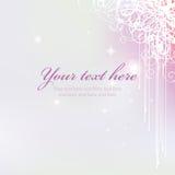 Roze purpere achtergrond stock illustratie