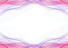 Roze purpere elektriciteitslijnen Royalty-vrije Stock Foto's