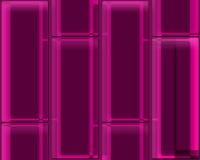 Roze/purpere vierkanten Stock Foto