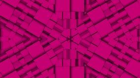 Roze raadsel bewegende achtergrond stock video