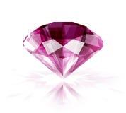 Roze robijn royalty-vrije illustratie