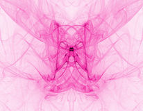Roze rooksamenvatting royalty-vrije illustratie