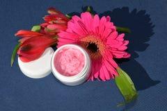 Roze room, lippenbalsem Stock Afbeelding