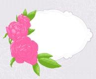 Roze rozen royalty-vrije illustratie