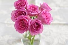 Roze rozen. royalty-vrije stock fotografie