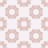 Roze rozettenpatroon Royalty-vrije Stock Afbeelding