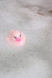 Roze RubberEend stock afbeelding