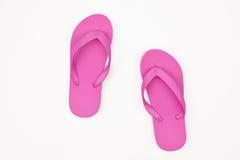 Roze Sandals Royalty-vrije Stock Fotografie