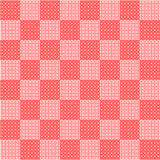 Roze schaakbord Stock Fotografie