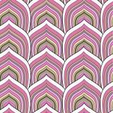 Roze schaalpatroon Royalty-vrije Stock Afbeelding