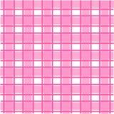 Roze Schots patroon Royalty-vrije Stock Foto