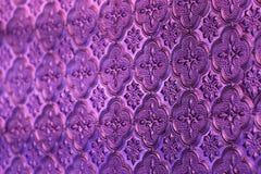 Roze, serings of folie achtergrondglas Oud uitstekend glas met Stock Afbeeldingen