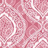 Roze sier bloemenachtergrond Royalty-vrije Stock Fotografie