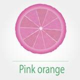 Roze sinaasappel Royalty-vrije Stock Afbeeldingen